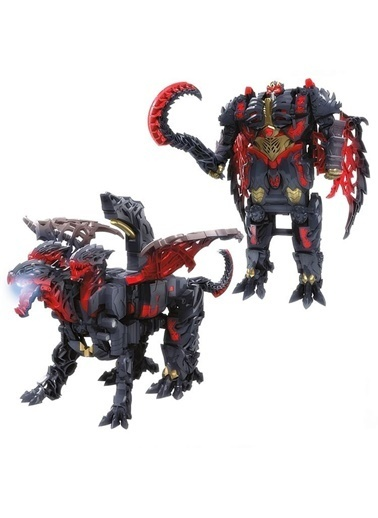 Transformers Transformers 5 Turbo Changers Dragonstorm Mega Figür Renkli